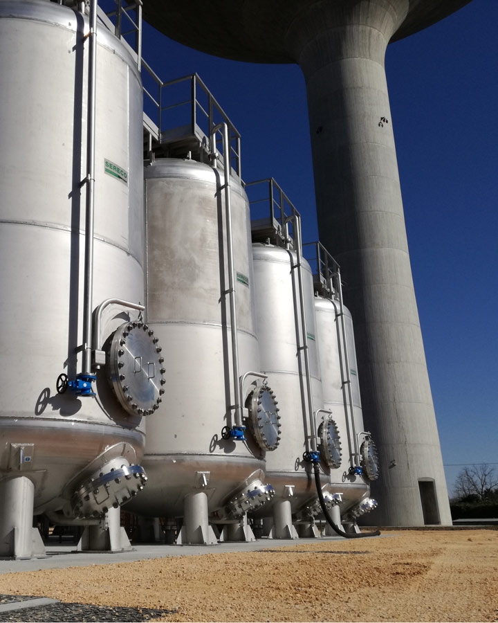 impianto acque primarie