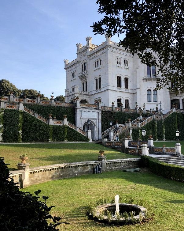 Fontane molo Castello Miramare