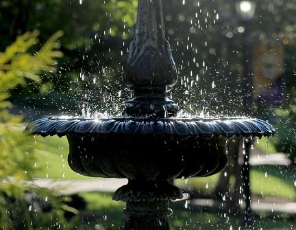 Dettaglio fontana pubblica